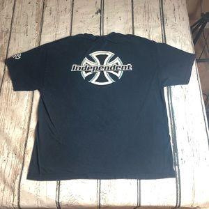 Vintage Independent Skateboard T-Shirt Double side